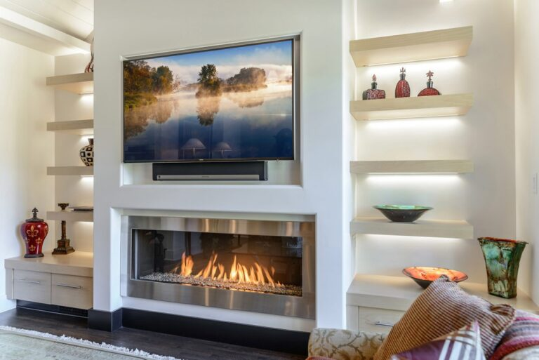 5 Reasons You Should Never Mount a TV Above Fireplace